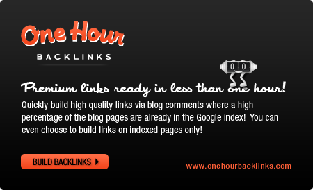 One Hour Backlinks